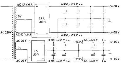 主动伺服式功率放大器电源原理图
