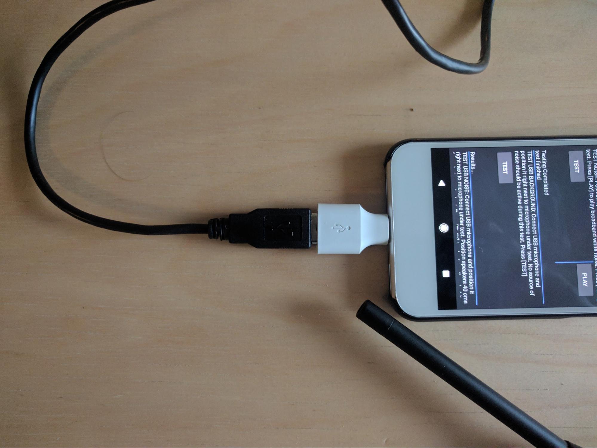 USB 参照麦克风照片
